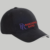 PR Marching Band - BX004 Big Accessories 6-Panel Twill Sandwich Baseball Cap