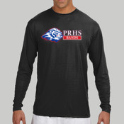 Logo - N3165 A4 Long-Sleeve Cooling Performance Crew Neck T-Shirt